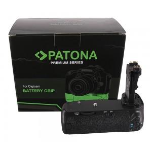 Батериен грип Patona BG-E14 съвместим с Canon BG-E14 за камери Canon EOS 70D, 80D