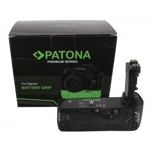 Батериен грип Patona BG-E20 съвместим с Canon BG-E20 за камери Canon EOS 5D Mark IV