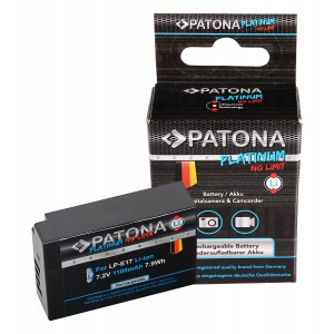 Батерия Patona Platinum LP-E17 , съвместима с Canon LP-E17