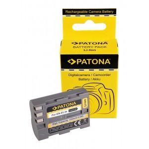 Батерия Patona EN-EL3e съвместима с Nikon EN-EL3e