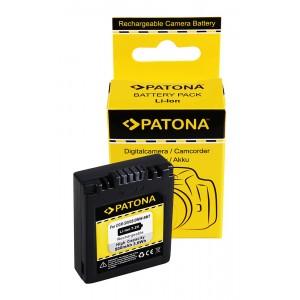 Батерия Patona CGA-S002 съвместима с Panasonic CGA-S002, CGR-S002, DMW-BM7