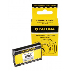 Батерия Patona NP-BX1 съвместима със Sony NP-BX1, Sony NP-BX1/M8