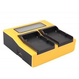 Двуканално зарядно с дисплей Patona за батерии Canon BP-A30, BP-A60, BP-A65, BP-A90