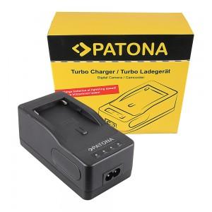 Зарядно Patona BC-V615 съвместимо със Sony BC-V615 за батерии Sony NP-F550, NP-F750, NP-F960